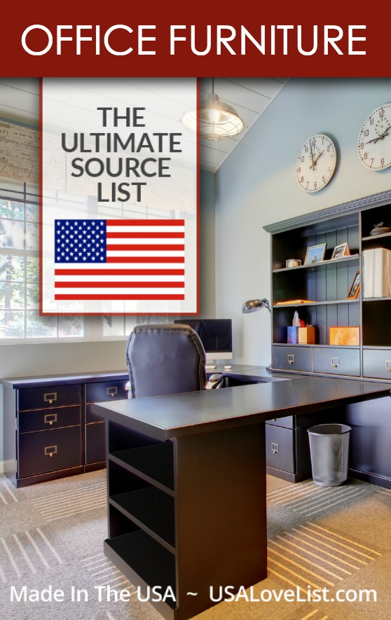 Made in USA Office Furniture #office #officespace #officefurniture #homeoffice #AmericanMade #MadeinUSA