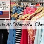 Made in USA Women's Clothing: The Ultimate Source Guide