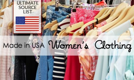 Made in USA Women's Clothing: The Ultimate Source List