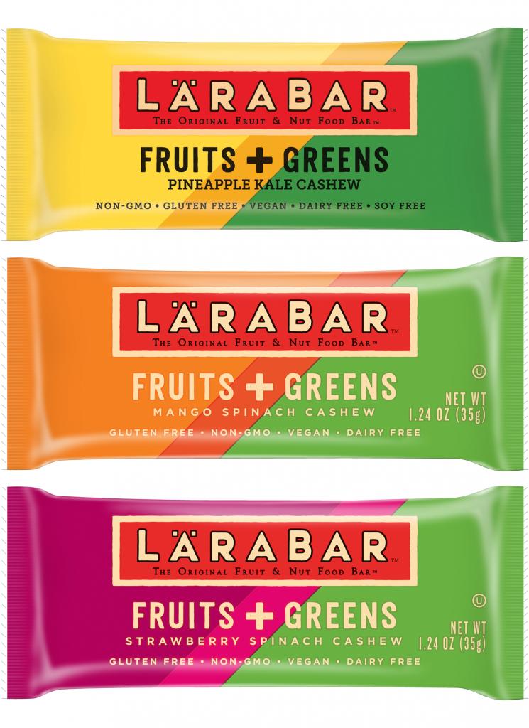 Larabar GMO Free Fruits & Greens Bar #whole30 #vegan #usalovelisted