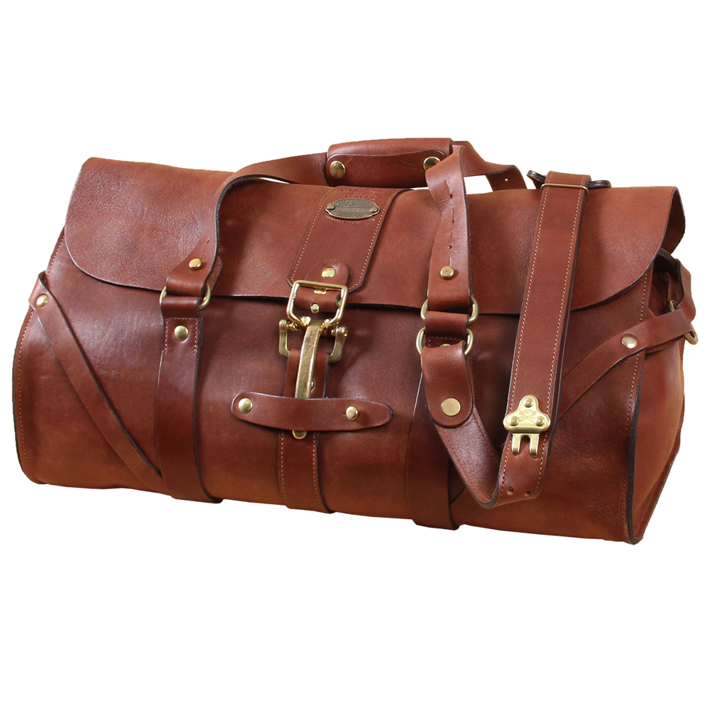 American Made Luxury Gifts for Men - Leather Briefcase from Col. Littleton #usalovelisted #giftsformen