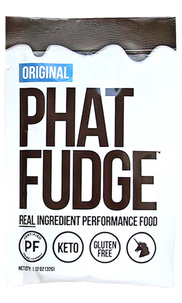 Performance Fuel for Athletes- Phat Fudge - Comes in Both Paleo and Vegan Varieties