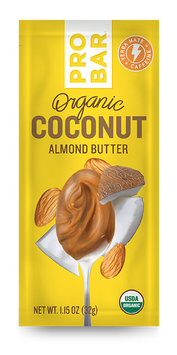 Probar Organic Coconut Almond Butter with Caffeine and Made with Coconut Oil