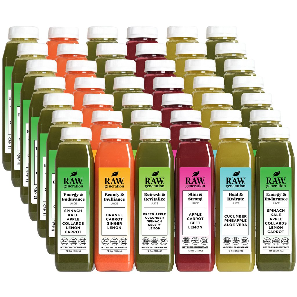 Natural Detox Cleanse: RAW Generation Juice Cleanse - Reviewed on USA Love List #cleanse #naturalhealth #usalovelisted