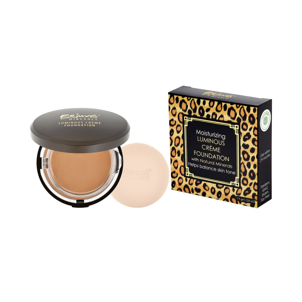 Rejuva Minerals Luminous Creme Foundation - Vegan, Non-Toxic, Safe Cosmetics, Made in the USA