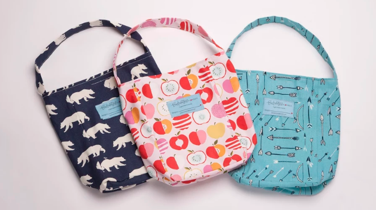 Made in USA Lunch Bags, Lunch Gear From Enchanted Slumber #backtoschool #schoollunch