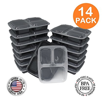Lunch gear| Fit Meal Prep food storage containers, Made in USA