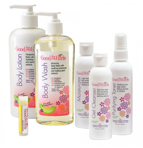 Vegan beauty products: Good for You Girls #tweens #skincareproducts #madeinUSA #usalovelisted