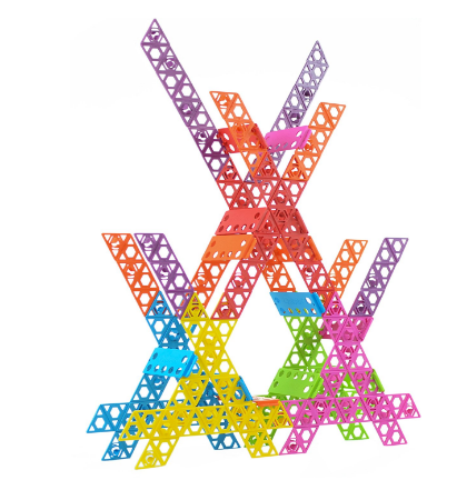 Gifts for kids: Qubits building toys, made in USA