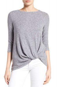 Twist Front Sweater #MadeinUSA @nordstrom
