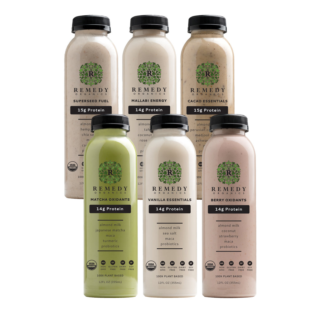 Natural Detox Cleanse: Vegan Protein Milk from Remedy Organics - Nut Based with Organic Protein Blend #vegan #cleanse #naturalhealth #usalovelisted