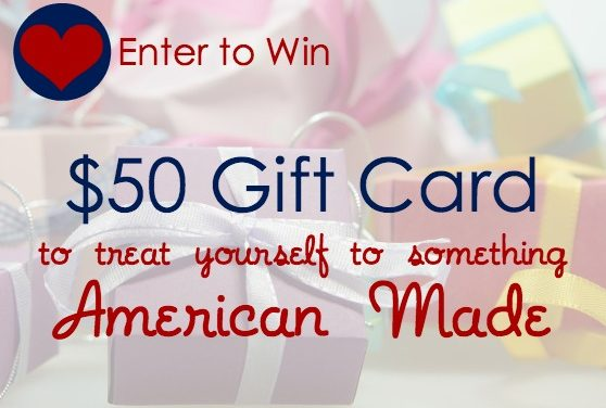 Giveaway: $50 Nordstrom Gift Card – Treat Yourself to Something American Made