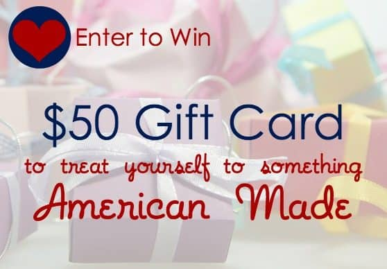 Enter to win $50 Gift Card #giveaway #MadeinUSA