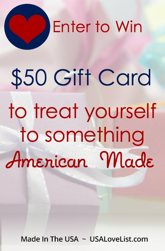 Ends 8/31/17. Enter to win #giveaway #MadeinUSA