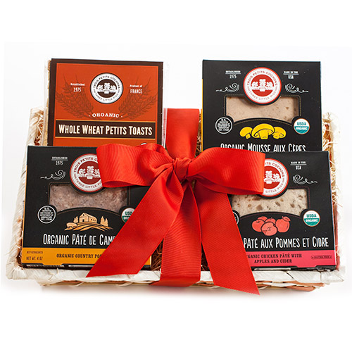 American Made Foodie Gifts - Les Trois Petits Cochons Organic Pate Gift Tray - Made in Brooklyn