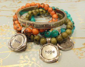 pewter bracelets