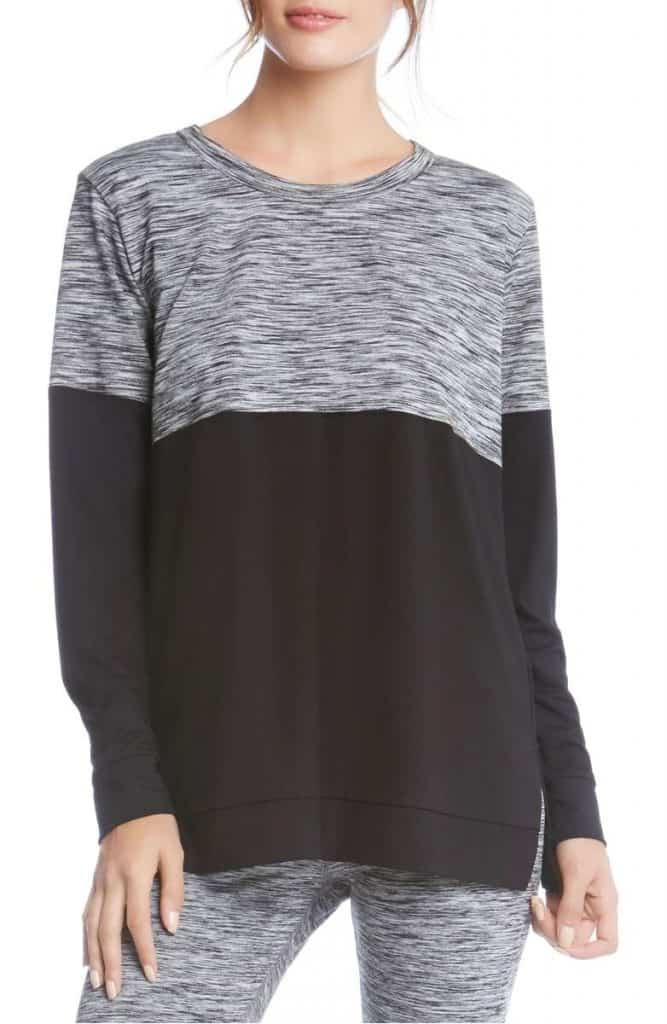 Karen Kane Colorblock Knit Top | Made in USA at USA Love List