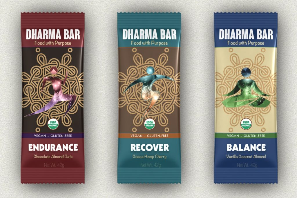 Organic Vegan Gluten-Free Dharma Bars - Made in USA