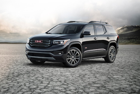 Made in USA Cars An American Made Car Guide: American made SUV GMC Acadia