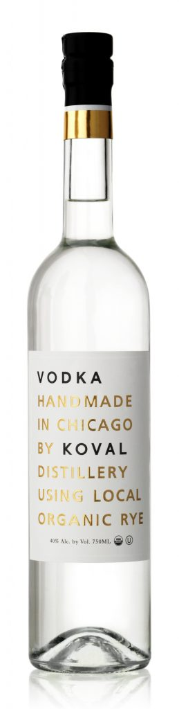 KOVAL Vodka - made in Chicago, Illinois