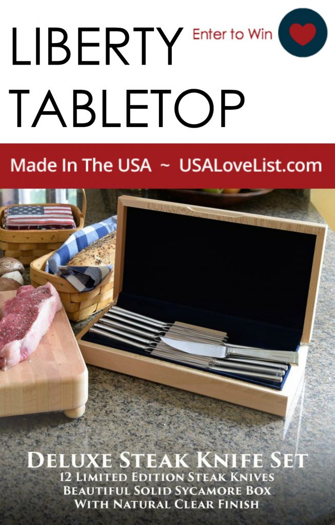 LIBERTY TABLETOP MADE IN USA