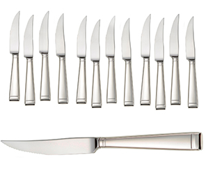American Made Paleo Gifts - Liberty Tabletop Deluxe Steak Knife Set #madeinUSA #weddingGift #gifts #AmericanMade