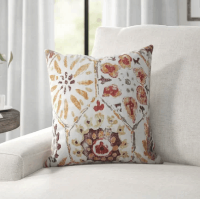 Throw Pillows Bring Color to Any Room