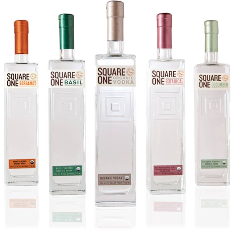 Square One Organic Vodka - made from 100% American grown rye