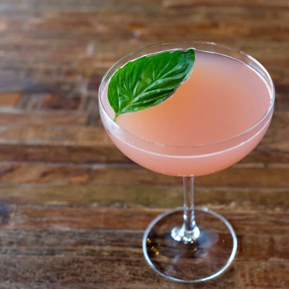 Thai Grapefruit Martini - True Food Kitchen #cocktails #martini #5oclock