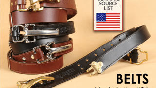 Made in USA Belts: The Ultimate Source List
