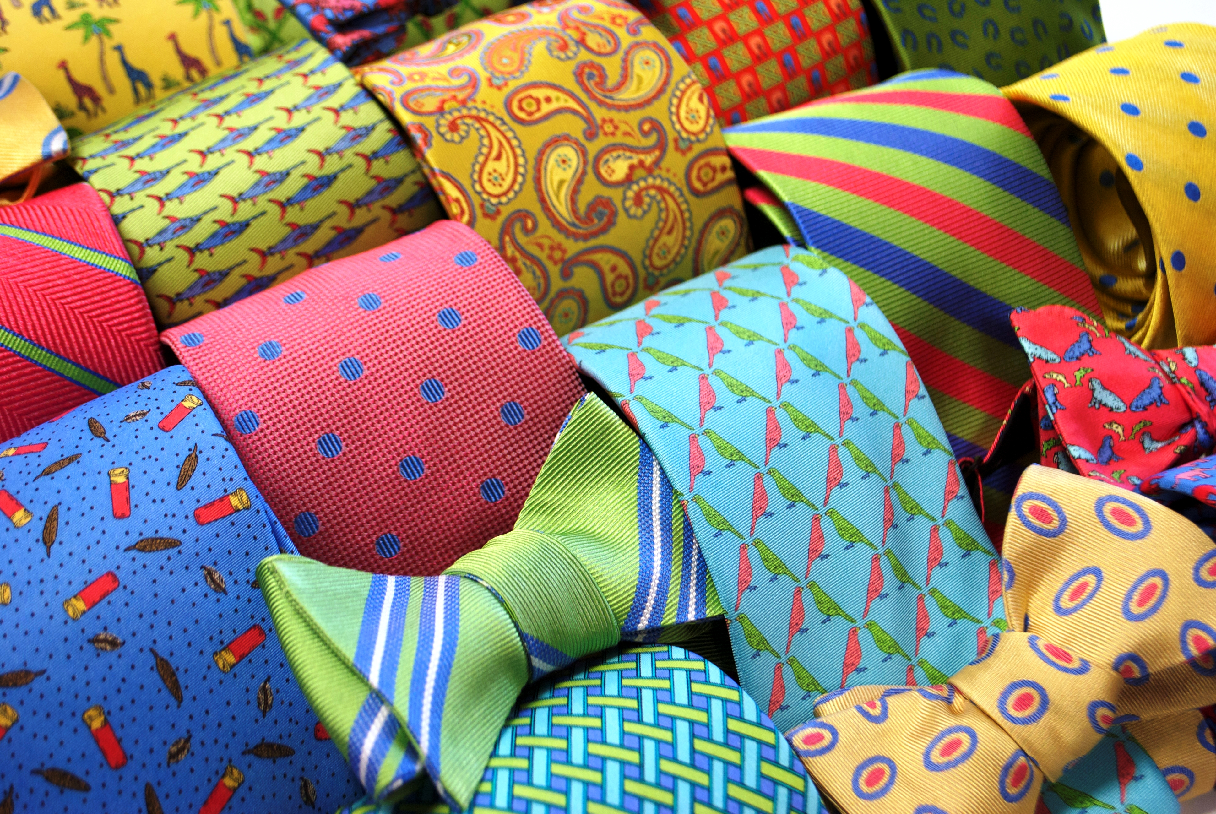 American Made Men's Neckties and Bow Ties from Peter Blair #usalovelsited #mensfashion