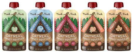Munk Pack On-The Go Oatmeal Packets - Vegan, Gluten-, and GMO-Free