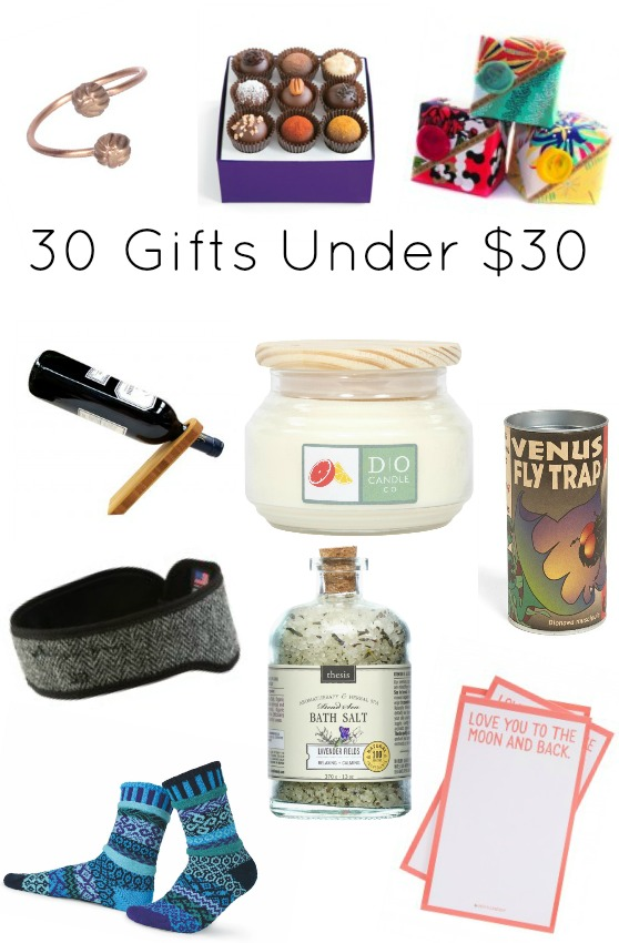 30 Gifts Under $30 - All Affordable American Made Gifts