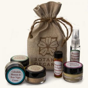 Botanic Organic Essential Travel Set - Vegan, Organic, Non-Toxic Beauty Products - Save 15% off with code USALOVE