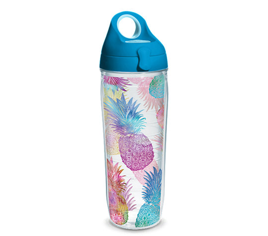 Cool American Made Gifts for Tweens - Tervis Tumbler in Watercolor Pineapples