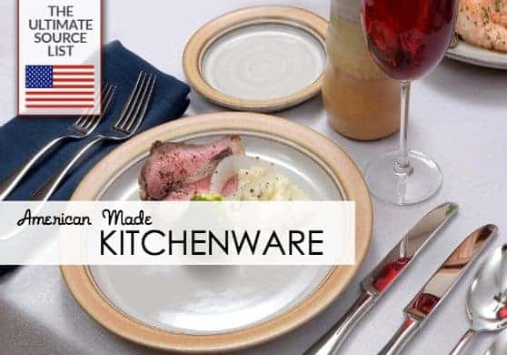 Kitchenware Made in USA Source List