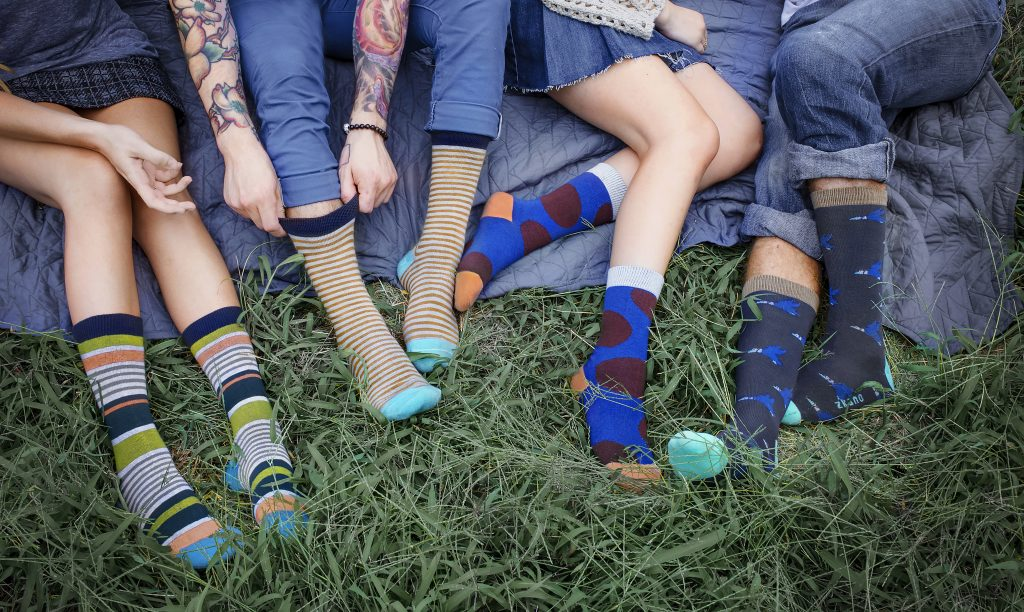 American Made Organic Socks for Him and Her From Zkano