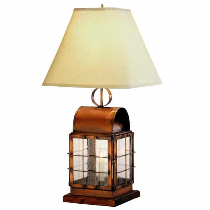 Lanternland Lighting Back Bay Lantern Table Lamp #usalovelisted #madeinUSA #lighting