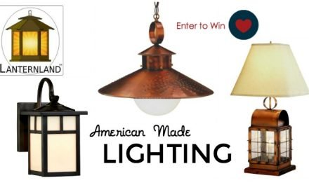 Giveaway: American Made Lighting by Lanternland