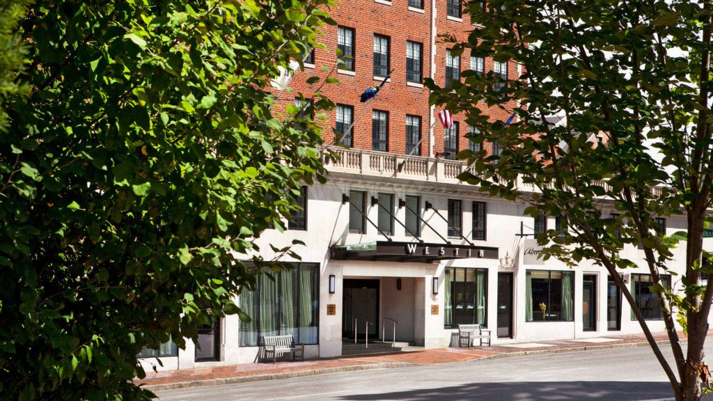 The Westin Portland Harborview, previously known as The Eastland Park Hotel, opened it's doors in 1927 as the largest hotel in New England.