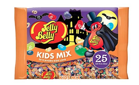 American Made Halloween Candy: Jelly Belly Kids Mix #usalovelisted #Halloween #candy