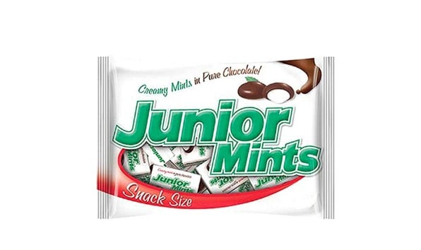 American made Halloween Candy: Junior Mints #usalovelisted #Halloween #candy