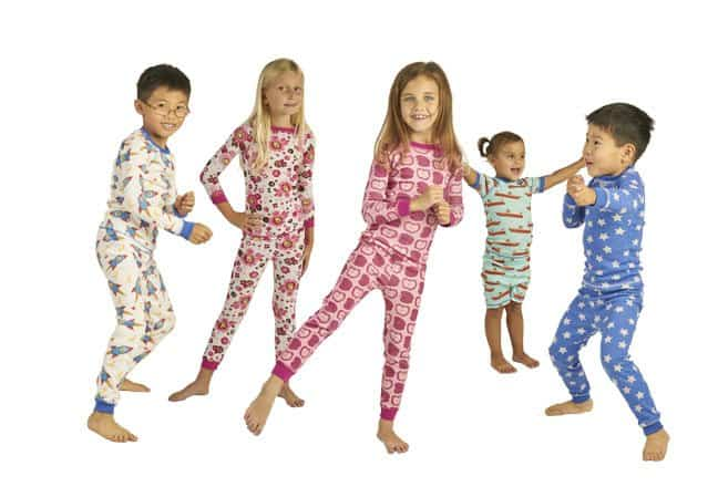 Brian the Pekingese: American Made Organic Children's Pajamas