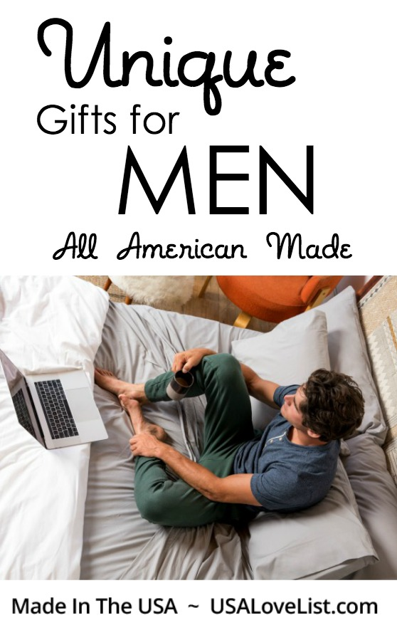 Five Unique Gifts for Men: All American Made - USA Love List