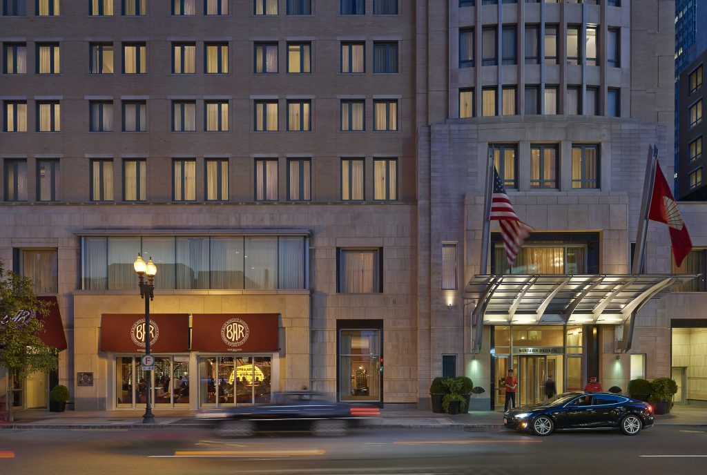 Nine Luxury Travel Destinations in the USA - Boston Massachusetts Mandarin Oriental