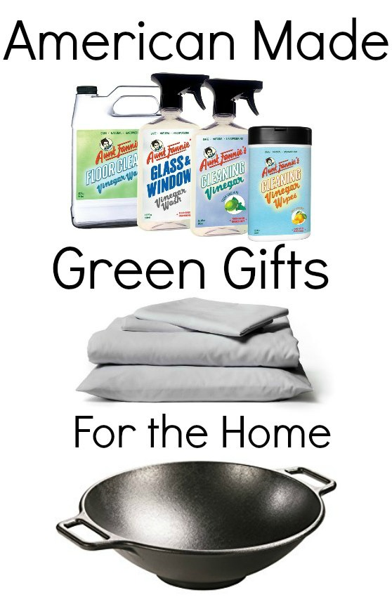 American Made Green Gifts for the Home