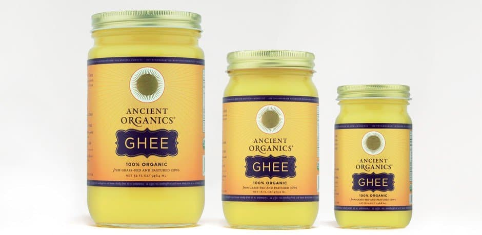 Ancient Organics Ghee 100% Organic Made in California #whole30 #organic #usalovelisted