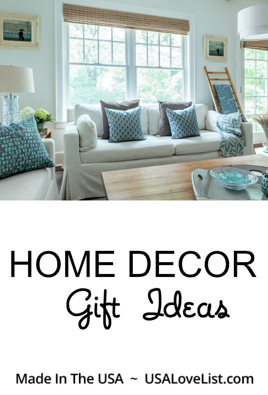 Home Decor Gifts Made in the USA