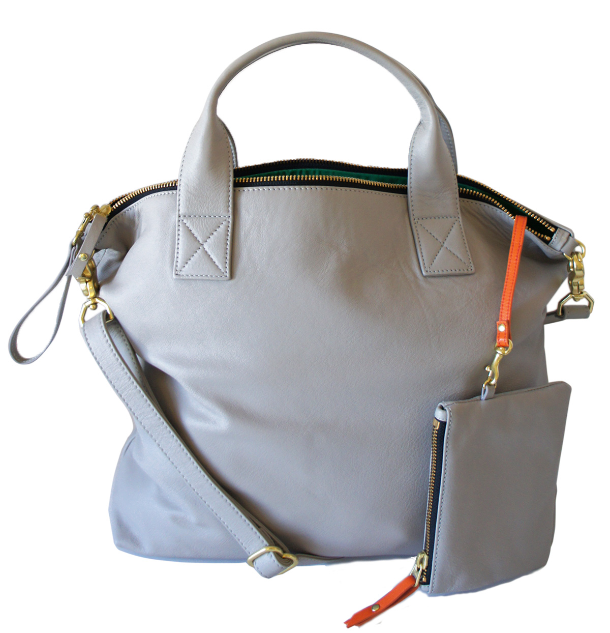 American made designer purses, handbags: Leather Bag from Blair Ritchey - Indie Designer - Made in Ohio #usalovelisted #madeinUSA