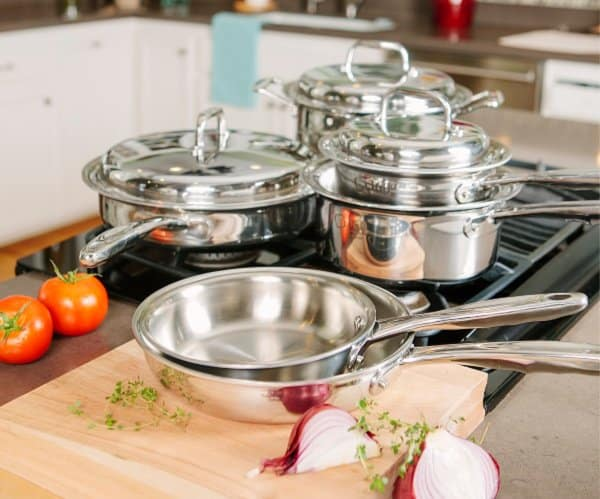 Perfect Thanksgiving Table: 360 Cookware available at Liberty Tabletop #usalovelisted #Thanksgiving #madeinUSA